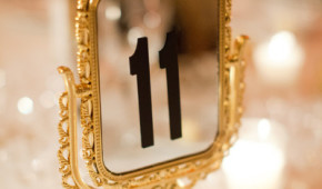 11 on a mirror
