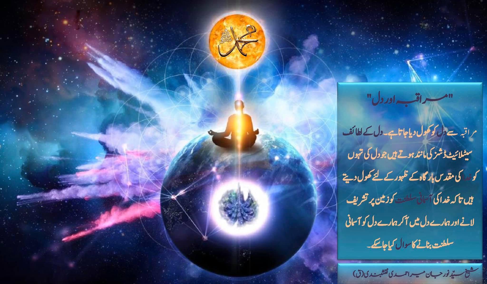 شیخ سَیَّد نورجان مِیراَحمَدِی نَقشبَندِی (ق) کی سنہری تعلیمات سے اقتباس بِسْمِ...