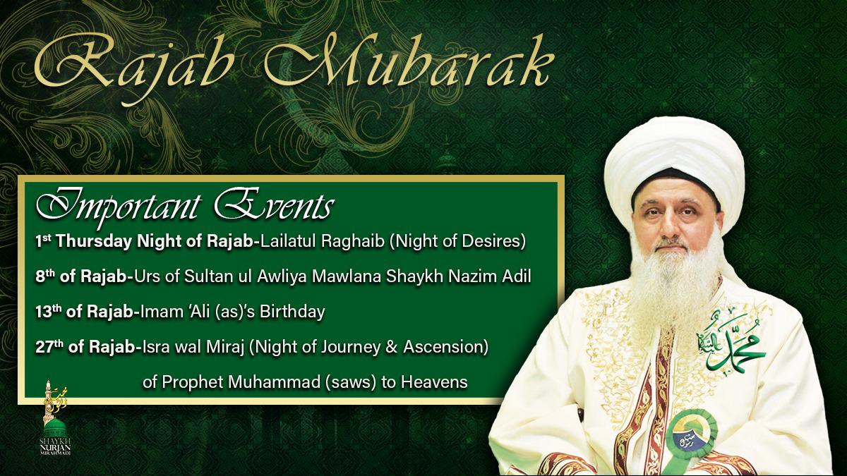 Welcoming Rajab