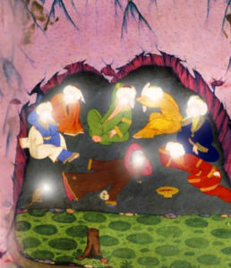 7 sleepers in cave