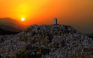 Arafah - Jabal ur Rahma at Sunrise