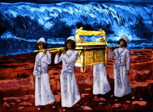 Ark of Covenant carried by 4