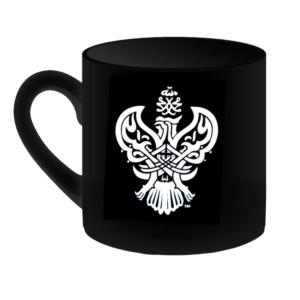 SMC black mug with Phoenix logo front