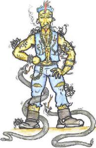 meditation - khalwah Bad guy - man - snakes of bad character
