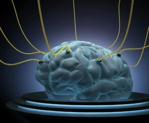 Brain Being Fed Disconnect Cut the Cord