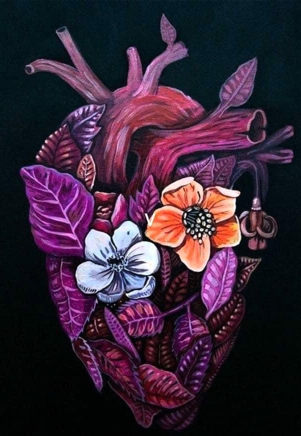 Cleaned Purified Heart