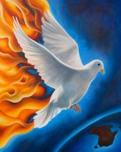 Dove carrying Fire - Bardan wa salaman