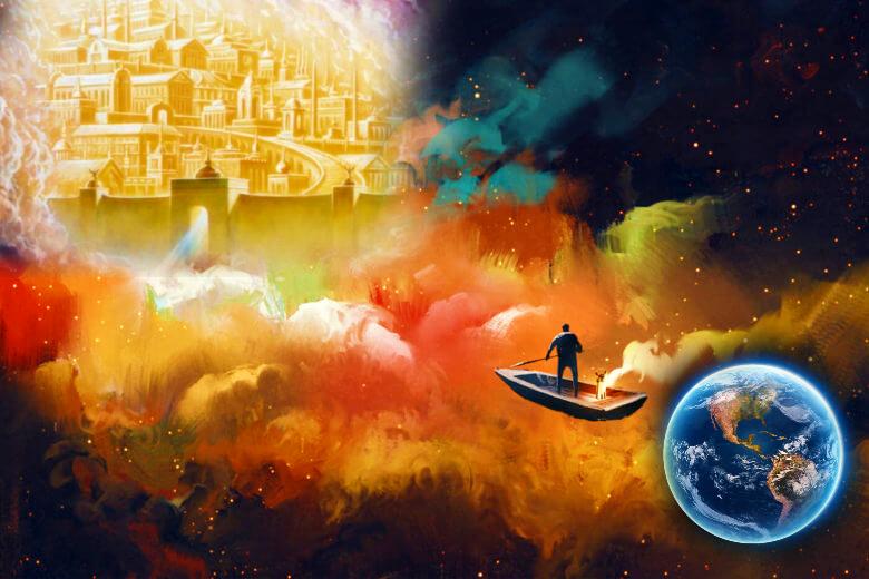 Exchange dunya for Akhirah, heaven, malakut, world, earth, migration,