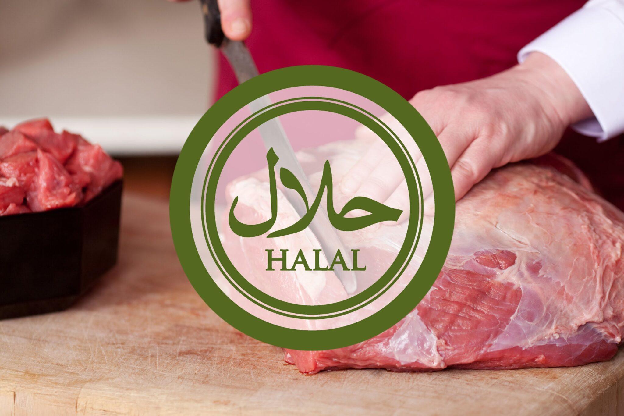 Halal Meat Sticker Butcher