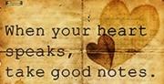 Heart Speaks Take Notes