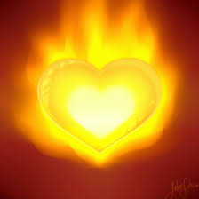 Heart - fire andl ight inside