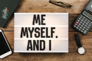 I, Me, Myself, ego, I-ness, nafs, Ananya