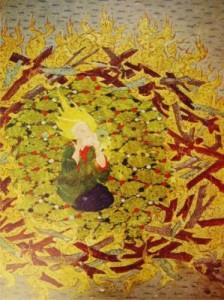 Ibrahim (as) inside the Fire
