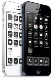 Iphone - Black and White merging