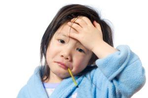 Sick Child Children Carry Burden