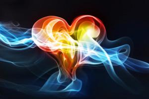 Heart - Lights going thru it