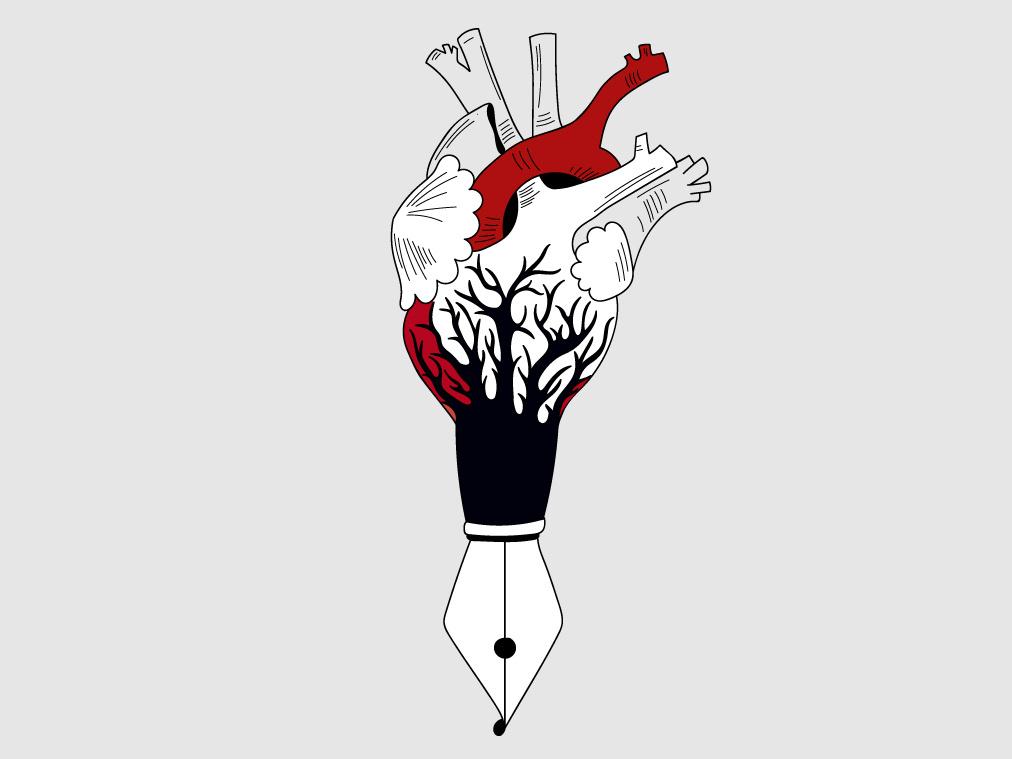 Love in Blood Write Shaykh for Heart Open