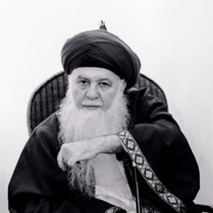 Shaykh MSH - Black & White - Beautiful pic