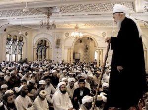 Mawlana Shaykh Nazim, Imam Holding Staff, Asa, giving Suhbah