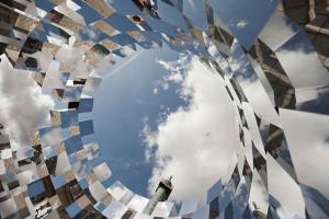 Mirror Installation-Paris' Place Vendome by-Arnaud-Lapierre-2