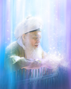 MSH Shaykh Hisham in raining of light and Blessings