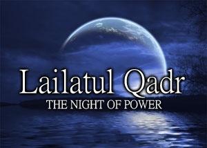 Night of power - lailatil-qadri