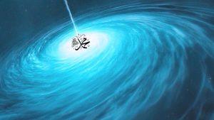Nur Muhammad (s) turning in center-Ocean of Power, hayat, ever-living, light