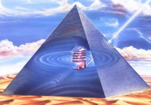 Pyramid - power source of energy