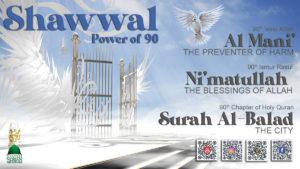 Shawwal Power of 90 logo QR