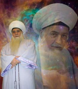 Shaykh Hisham MSH in blue - stars