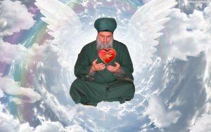 Shaykh Nurjan Meditation, angel wings, heavens, heart of Muhammad