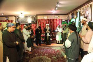 Shaykh Nurjan in Zikr at Naqshbandi Nazimiya Center - Vancouver - Isra wal Miraj 2016