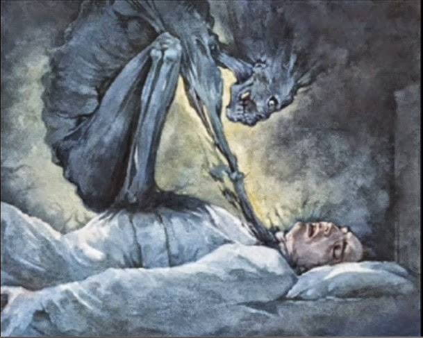 Sunnah Part 3 – Sunnah of Sleeping, Defending against ... Sleep Paralysis Drawings