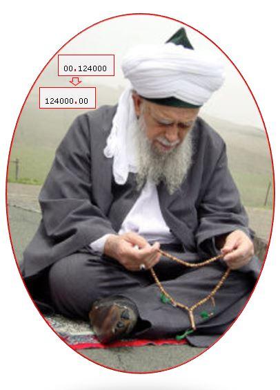 Sultan al Awliya Shaykh Nazim Nuqt 124000 Power