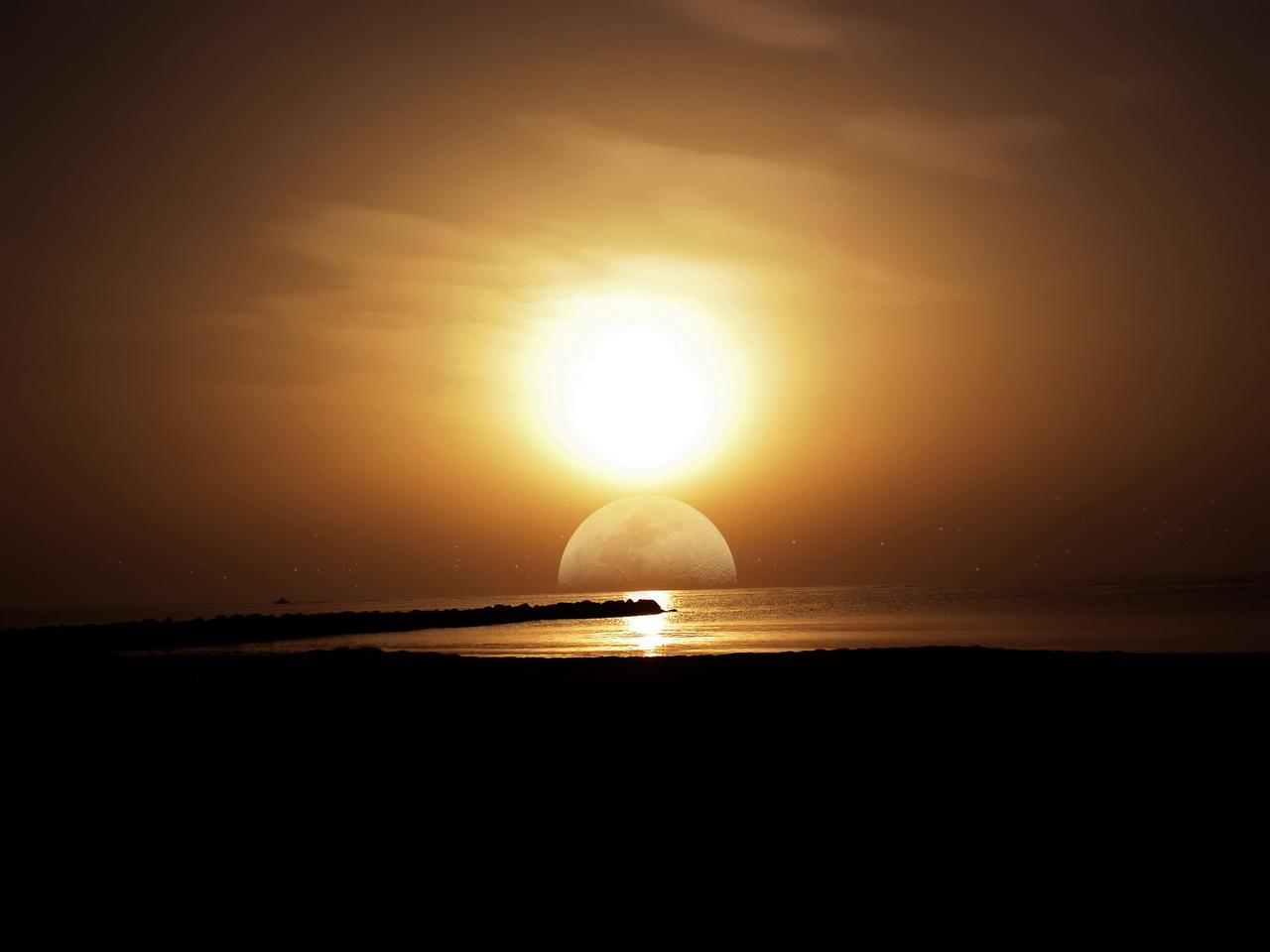 The Sun And The Moon Insan Kamel Boo...