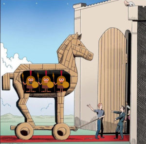 Trojan Horse Invading Invasion Enemy