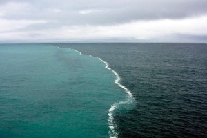 Two Seas that dont meet - Hijran Mahjura, Barzakh, river, ocean