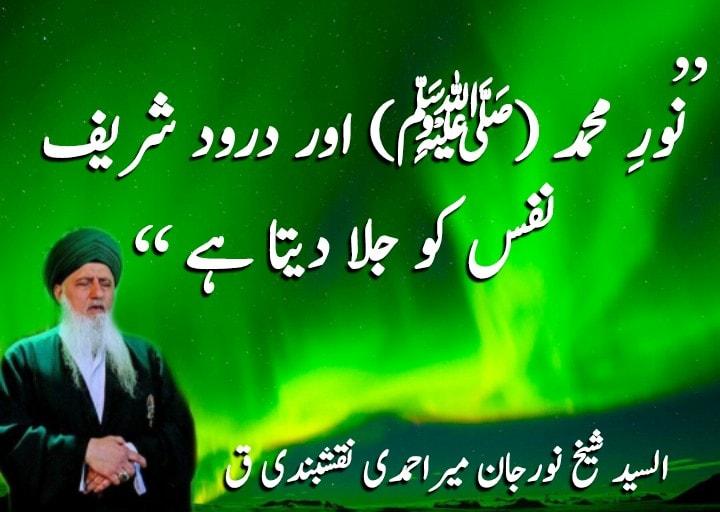 |نورِ محمد (ﷺ) اور درود شریف نفس کو جلا دیتا ہے|  تو ہر کوئی باہر جاکر یہ کہتا ر...