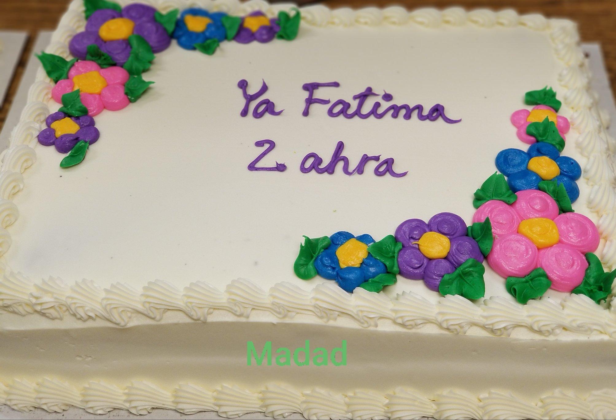 Ya Fatima Zahra! May your hand be always helping humanity!  Urs Mubarak!   -Mawl...
