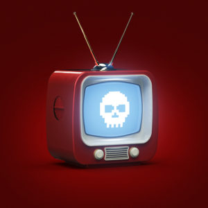 evil television