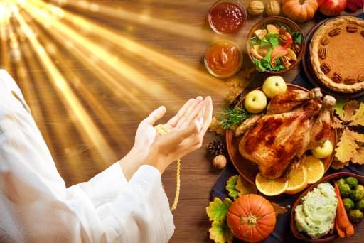 food prayer du'a