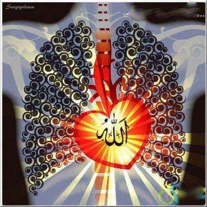 heart on fire, Allah, qalb,zhikr
