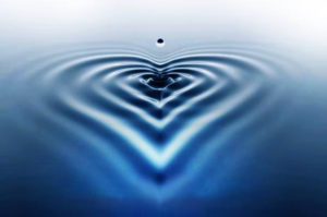 heart water rings wash and purify
