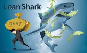 loan shark debt riba