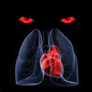 lungs and heart, shaitan, negativity going after hearts and lungs,