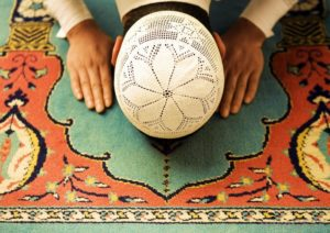 man in sajdah sujood prostration pray repentance