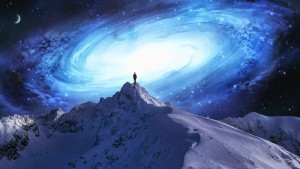 mountain top galaxy- near me - consciousness - human awakening