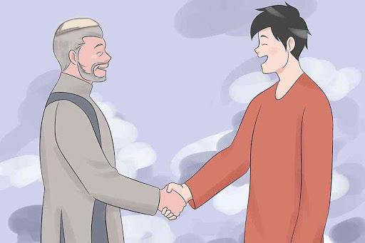 muslim and non muslim friends, dawah