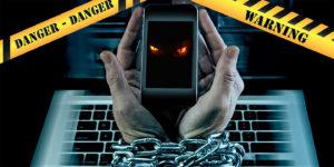 online addiction demons possession danger internet