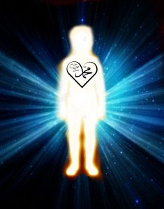 body shining with light of muhamamd,light body,zhikrullah